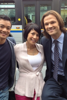 Supernatural: Osric Chau, Lauren Tom, Jared Padalecki