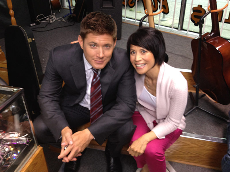 Supernatural: Jensen Ackles, Lauren Tom