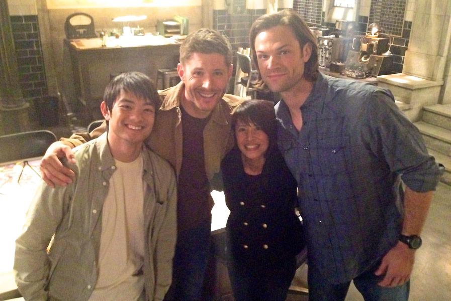 Supernatural: Osric Chau, Jensen Ackles, Lauren Tom, Jared Padalecki