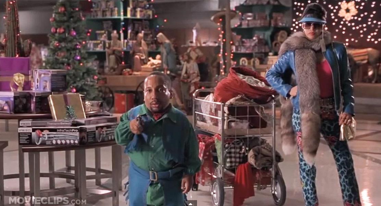 Bad Santa, with Tony Cox