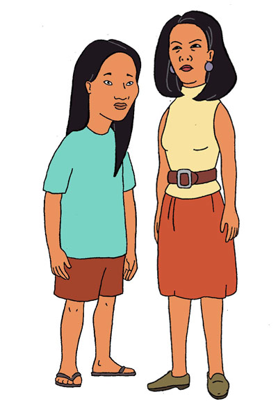 Voices of Connie and Minh in King of the Hill