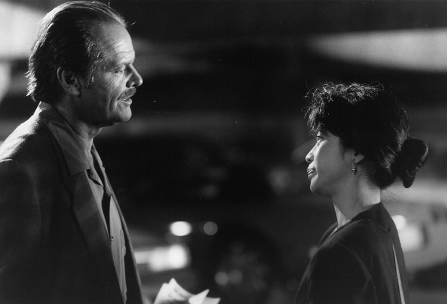 As Adele Bliss in Man Trouble - with Jack Nicholson