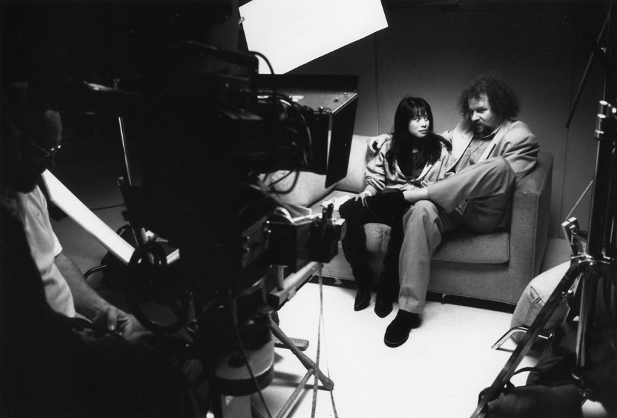 Mr. Jones - with director Mike Figgis